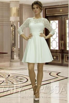 Короткое свадебное платье Anett MS-835