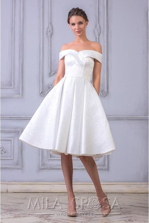 Короткое свадебное платье Vlada