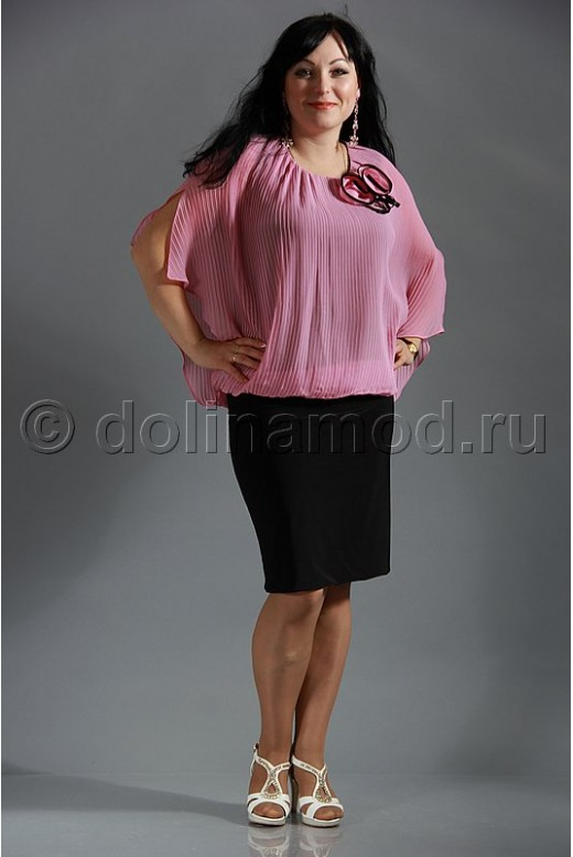 Платье большого размера DM-646