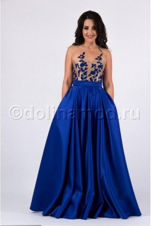 Вечернее прозрачное платье DM-814