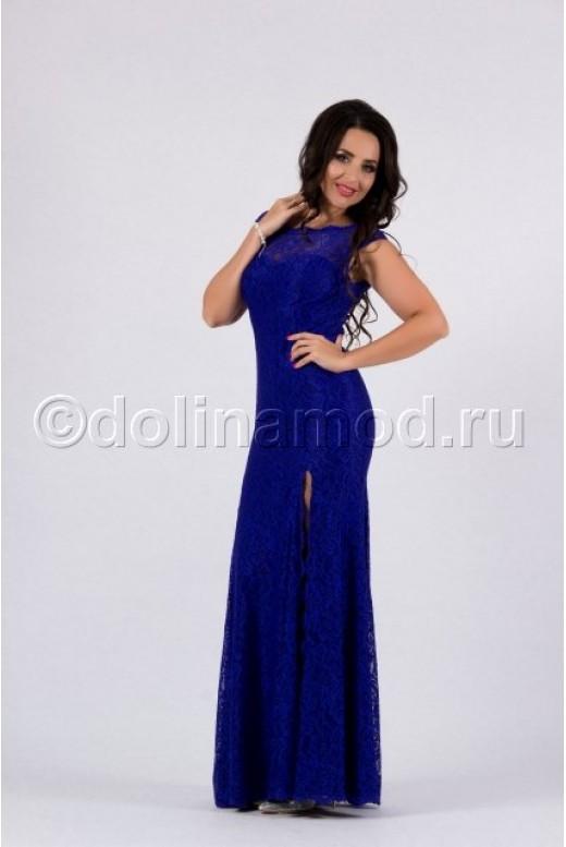 Кружевное платье рыбка DM-782