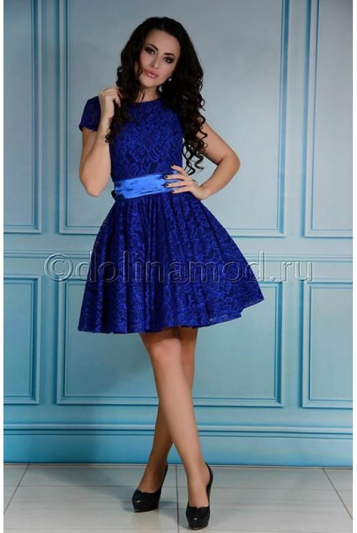 Короткое выпускное платье DM-736