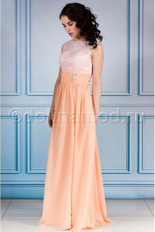 Платье на выпускной длинное DM-748
