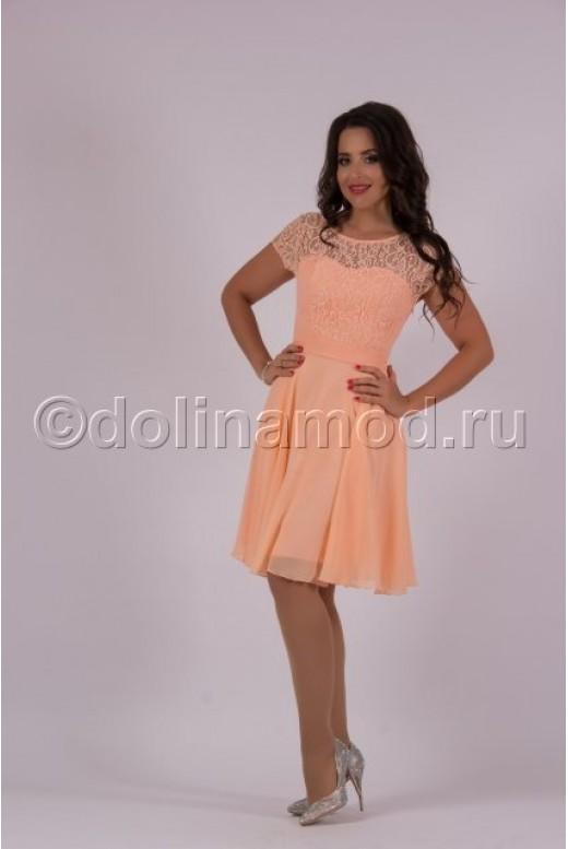 Короткое выпускное платье DM-727