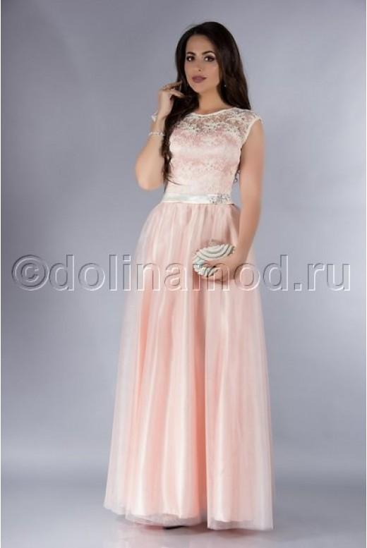 Платье на выпускной длинное DM-753