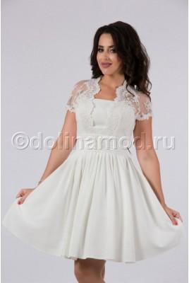 Короткое выпускное платье DM-797