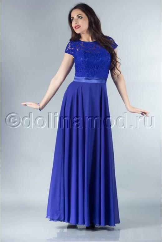 Длинное вечернее платье DM-755