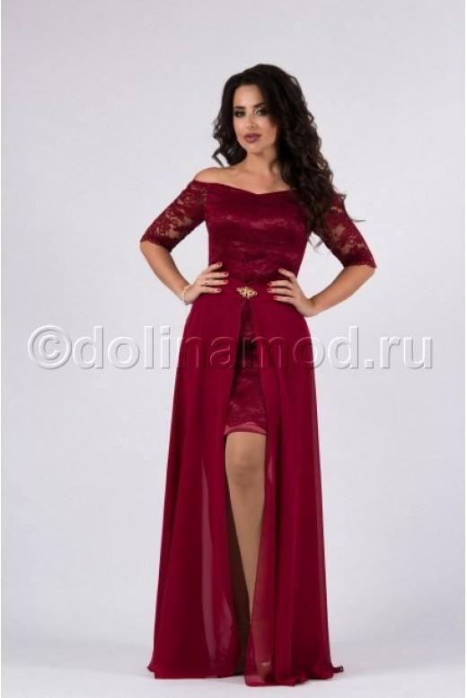 Платье трансформер на выпускной DM-822