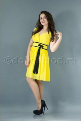 Короткое выпускное платье DM-704