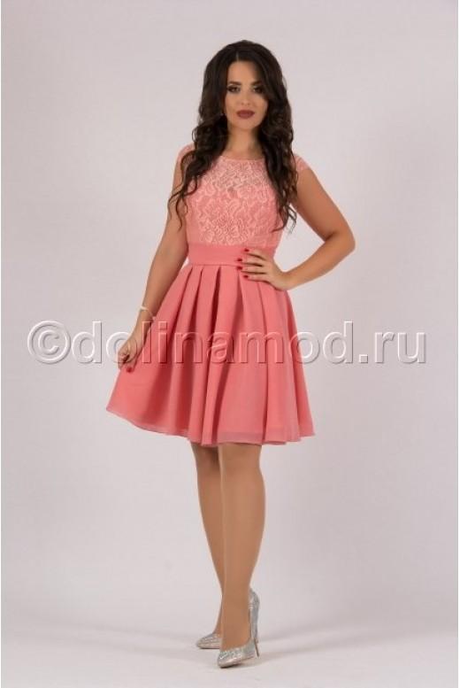 Платье на выпускной короткое DM-762
