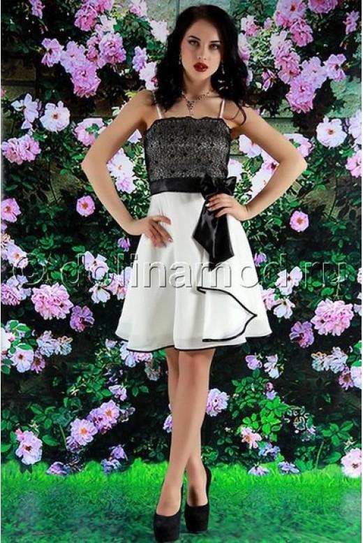 Короткое выпускное платье DM-592