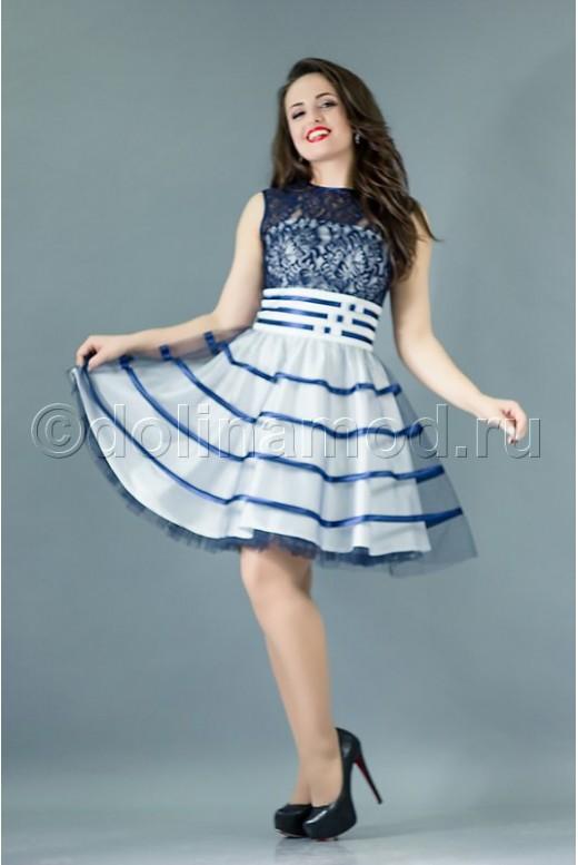 Короткое платье на выпускной DM-760