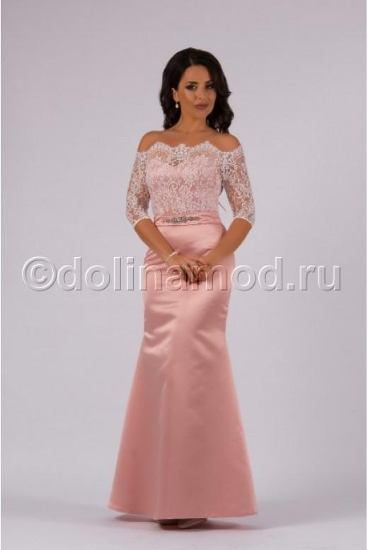 Платье годе на выпускной DM-801