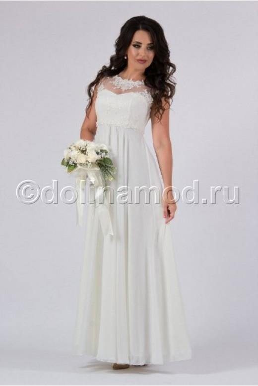 Платье на выпускной длинное DM-813
