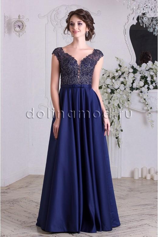 Вечернее платье в пол Katy