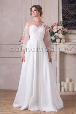 Свадебное платье с рукавами Leticia VM-894