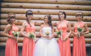 Платье на свадьбу для подружек невесты
