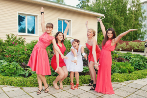 Платье на свадьбу для свидетельницы