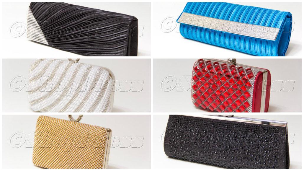 Не забудьте подобрать к наряду сумочку, где в «день X» будете хранить необходимые предметы.