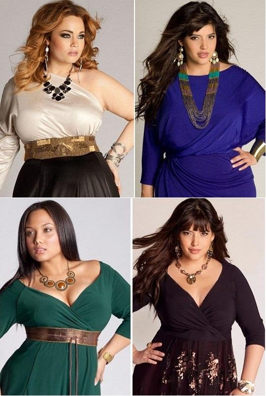Аксессуары к платьям для пышных леди