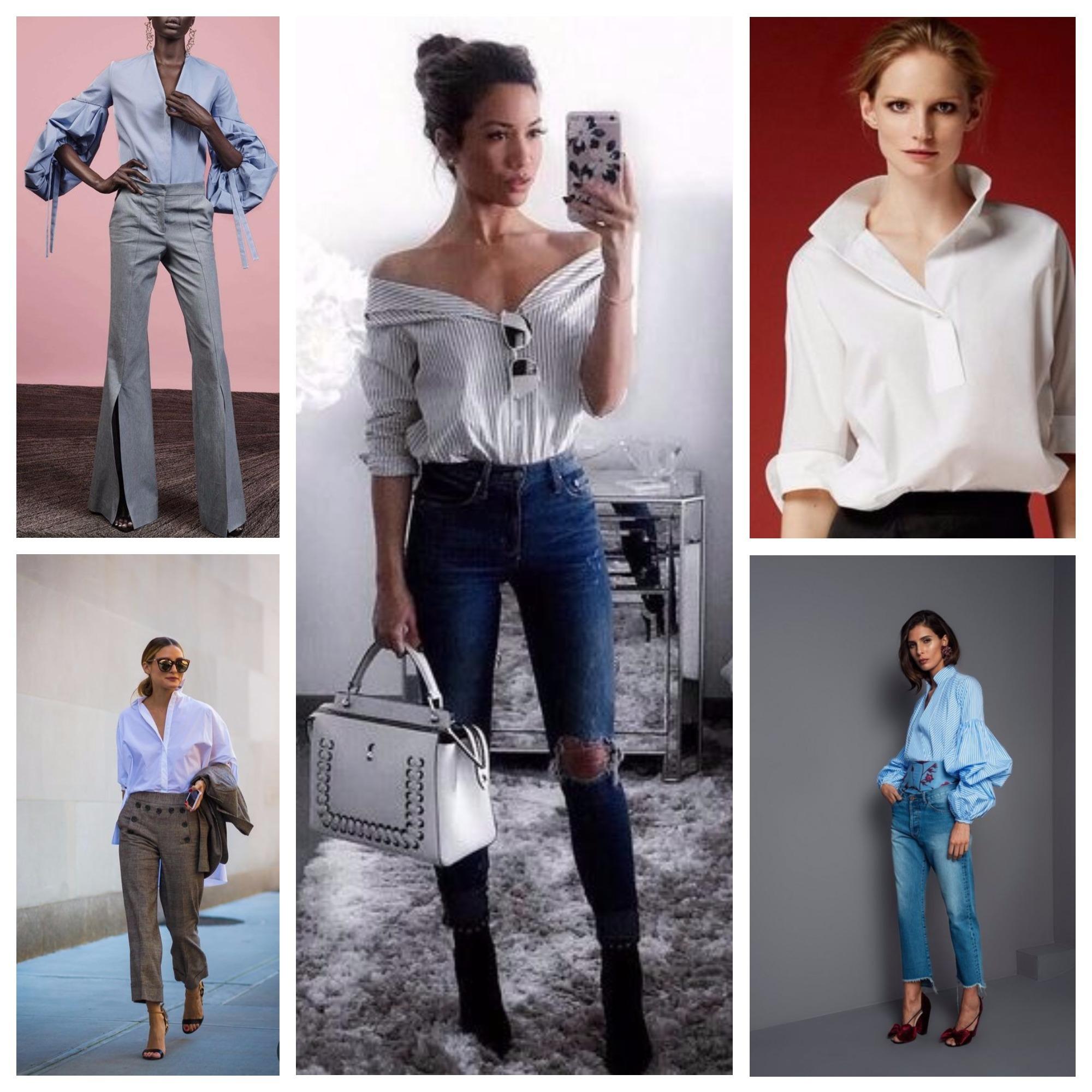 23bca348b67 Летние блузки 2018 года  модные тенденции
