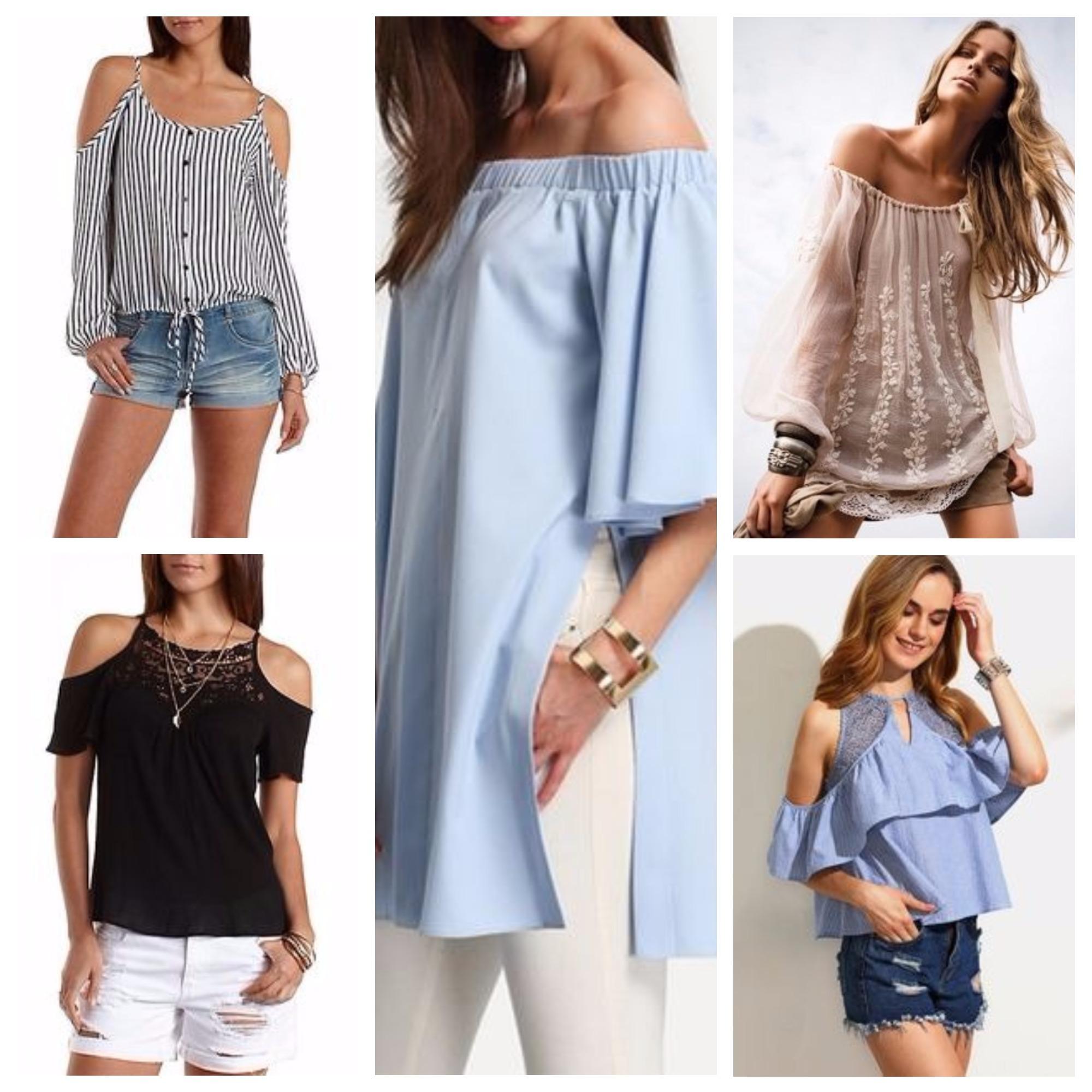 a6bd4524175 Летние блузки 2018 года  модные тенденции