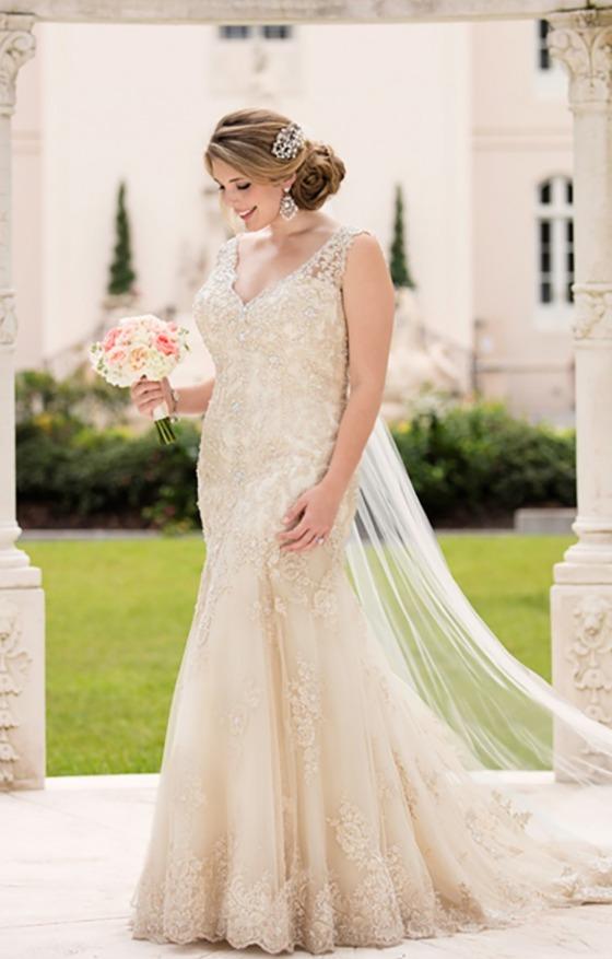 Подчеркните ваши достоинства в свадебном платье