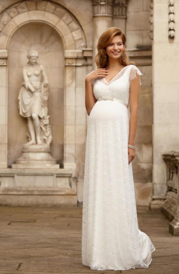 0db1ef314aed Свадебные платья для беременных. Недорогие