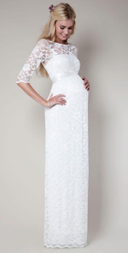 Свадебные платья для беременных. Недорогие
