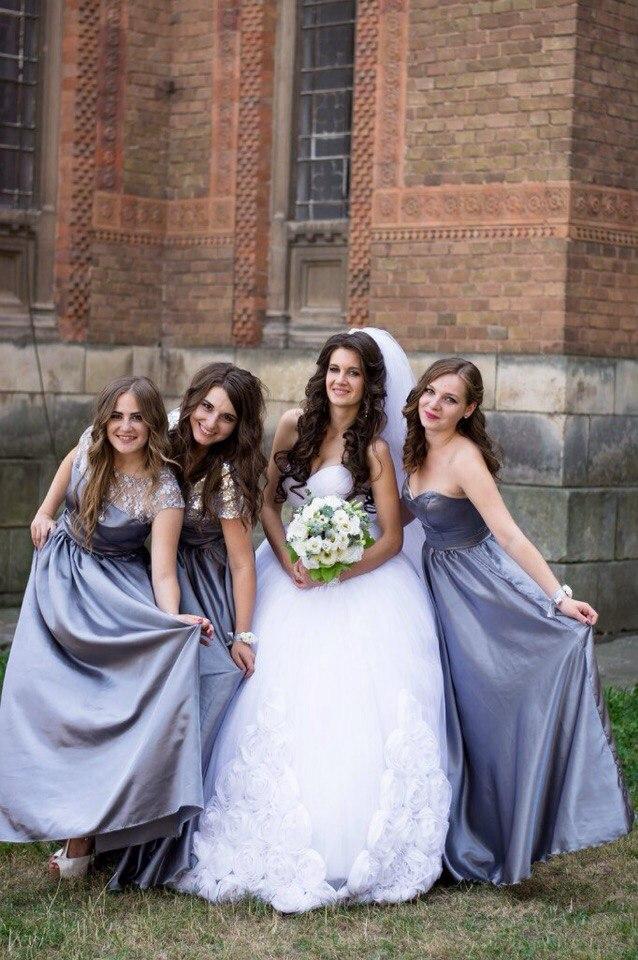 Платья подружек нвесты