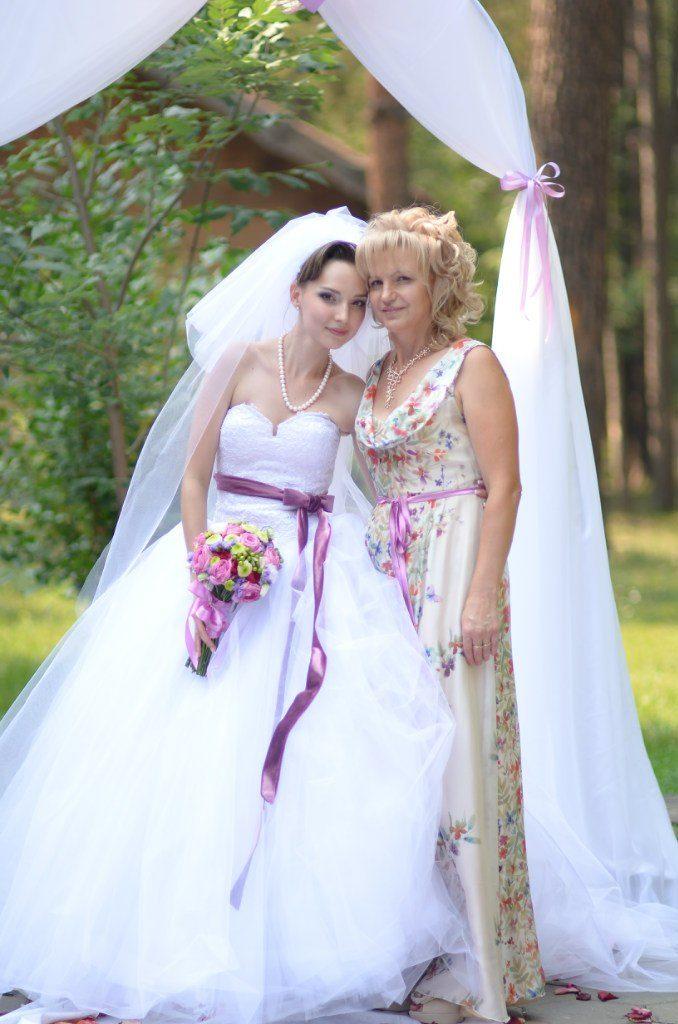 Шелковое платье для мамы невесты shopdress.ru