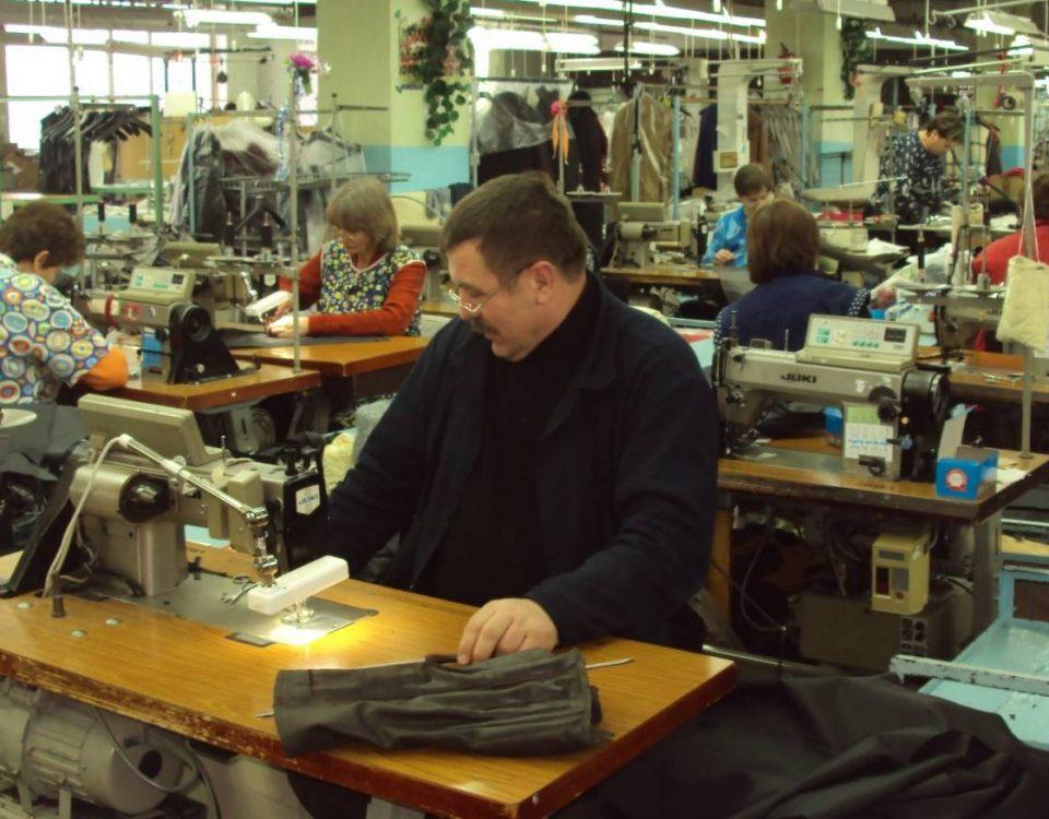 Экспорт российской одежды увеличился почти на 40%