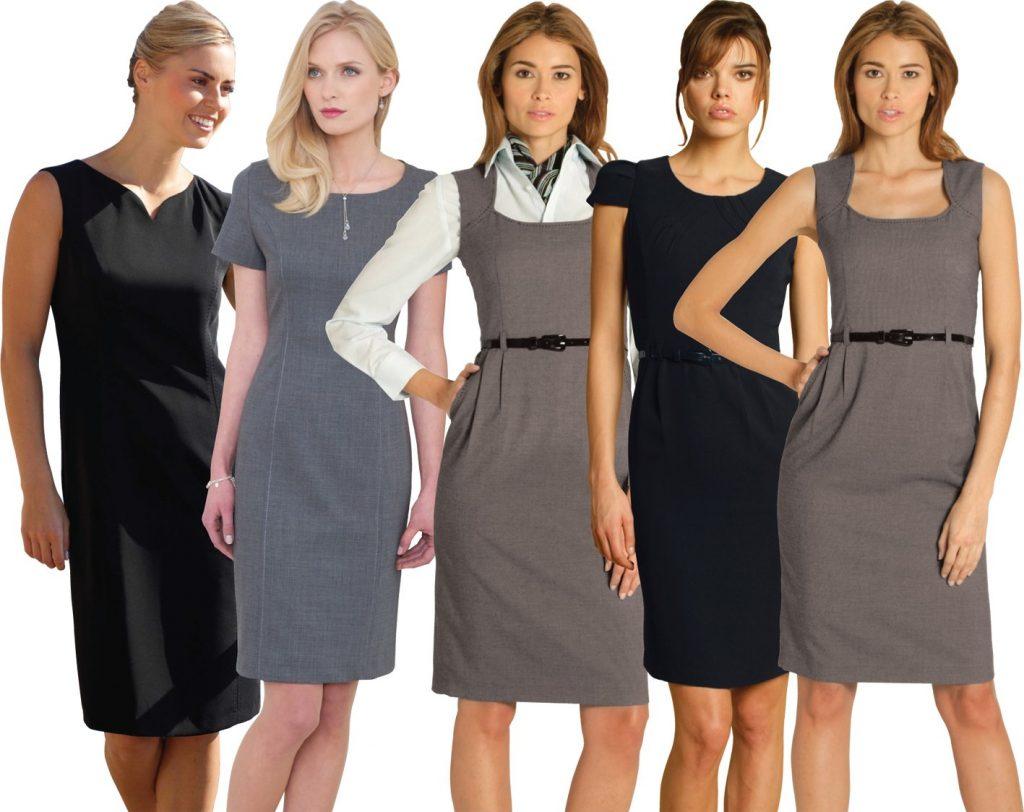 Купить офисное платье