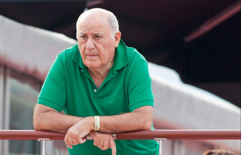 Амансио Ортега (Amancio Ortega) – основатель Zara